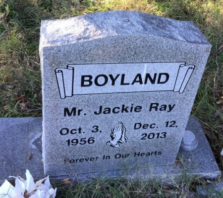 BOYLAND, JACKIE RAY - Shelby County, Tennessee | JACKIE RAY BOYLAND - Tennessee Gravestone Photos