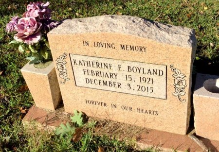 BOYLAND, KATHERINE E. - Shelby County, Tennessee | KATHERINE E. BOYLAND - Tennessee Gravestone Photos