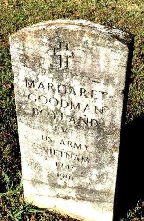 GOODMAN BOYLAND (VETERAN VIET), MARGARET - Shelby County, Tennessee | MARGARET GOODMAN BOYLAND (VETERAN VIET) - Tennessee Gravestone Photos