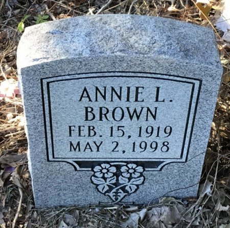 BROWN, ANNIE L. - Shelby County, Tennessee | ANNIE L. BROWN - Tennessee Gravestone Photos