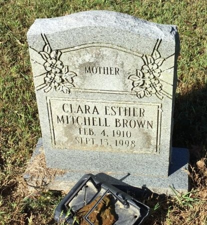 BROWN, CLARA ESTHER - Shelby County, Tennessee | CLARA ESTHER BROWN - Tennessee Gravestone Photos