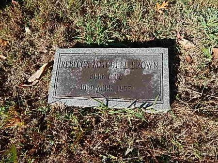 MITCHELL BROWN, REBECCA - Shelby County, Tennessee | REBECCA MITCHELL BROWN - Tennessee Gravestone Photos