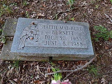 BURNETT, HATTIE MAE - Shelby County, Tennessee | HATTIE MAE BURNETT - Tennessee Gravestone Photos