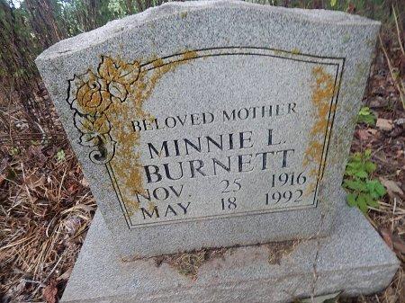 MORRING BURNETT, MINNIE L - Shelby County, Tennessee | MINNIE L MORRING BURNETT - Tennessee Gravestone Photos