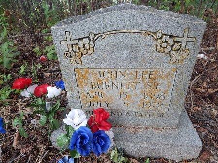 BURNETT SR, JOHN LEE - Shelby County, Tennessee | JOHN LEE BURNETT SR - Tennessee Gravestone Photos