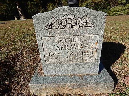 CARRAWAY, GARFIELD - Shelby County, Tennessee | GARFIELD CARRAWAY - Tennessee Gravestone Photos