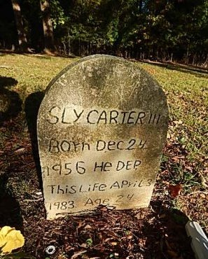 CARTER III, SLY - Shelby County, Tennessee | SLY CARTER III - Tennessee Gravestone Photos