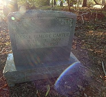 CARTER, JESSE ELMORE - Shelby County, Tennessee | JESSE ELMORE CARTER - Tennessee Gravestone Photos