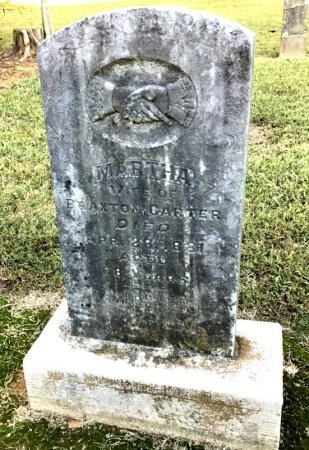 CARTER, MARTHA - Shelby County, Tennessee | MARTHA CARTER - Tennessee Gravestone Photos