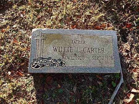 CARTER, WILLIE L - Shelby County, Tennessee | WILLIE L CARTER - Tennessee Gravestone Photos