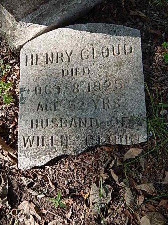 CLOUD, HENRY - Shelby County, Tennessee | HENRY CLOUD - Tennessee Gravestone Photos