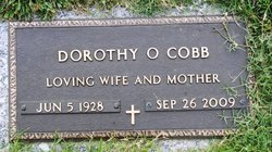 COBB, DOROTHY O - Shelby County, Tennessee   DOROTHY O COBB - Tennessee Gravestone Photos
