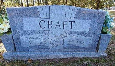 WILSON CRAFT, SAVANNAH - Shelby County, Tennessee | SAVANNAH WILSON CRAFT - Tennessee Gravestone Photos