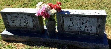 CRAFT, EVELYN R. - Shelby County, Tennessee | EVELYN R. CRAFT - Tennessee Gravestone Photos