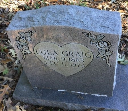 CRAIG, LULA - Shelby County, Tennessee   LULA CRAIG - Tennessee Gravestone Photos