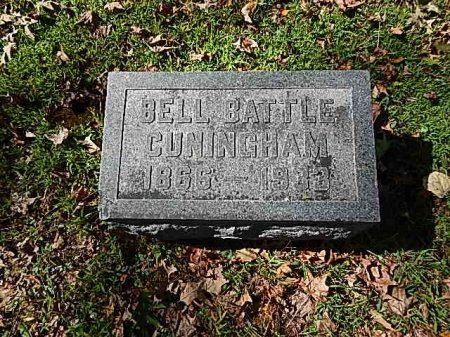 CUNINGHAM, BELL - Shelby County, Tennessee | BELL CUNINGHAM - Tennessee Gravestone Photos