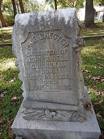 CUNINGHAM, PHIE CHESTER - Shelby County, Tennessee | PHIE CHESTER CUNINGHAM - Tennessee Gravestone Photos