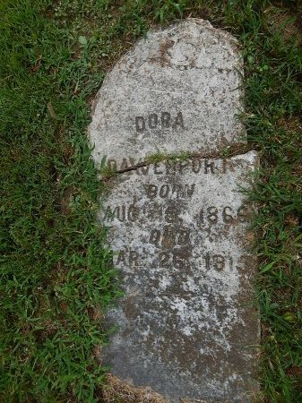 ROBERSON DAVENPORT, DORA - Shelby County, Tennessee | DORA ROBERSON DAVENPORT - Tennessee Gravestone Photos