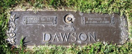 DAWSON, ESTHER L - Shelby County, Tennessee | ESTHER L DAWSON - Tennessee Gravestone Photos