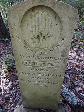 DEAN, WILLIAM LEANDER - Shelby County, Tennessee | WILLIAM LEANDER DEAN - Tennessee Gravestone Photos