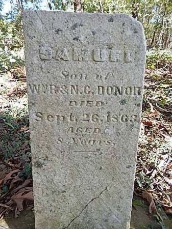 DONOR, SAMUEL - Shelby County, Tennessee | SAMUEL DONOR - Tennessee Gravestone Photos