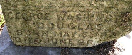 DOUGLAS, GEORGE WASHINGTON (CLOSEUP) - Shelby County, Tennessee | GEORGE WASHINGTON (CLOSEUP) DOUGLAS - Tennessee Gravestone Photos