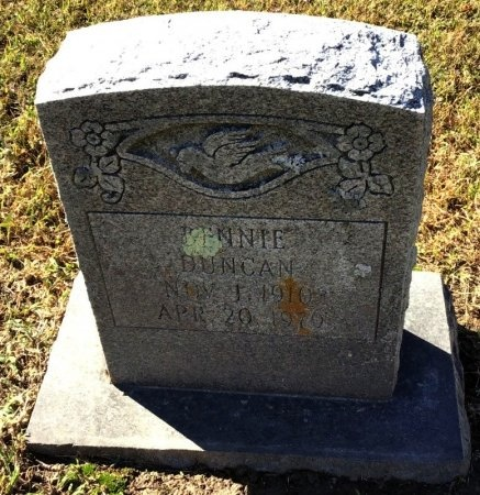 DUNCAN, MINNIE - Shelby County, Tennessee | MINNIE DUNCAN - Tennessee Gravestone Photos