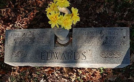 EDWARDS, PAUL ALEXANDER - Shelby County, Tennessee | PAUL ALEXANDER EDWARDS - Tennessee Gravestone Photos