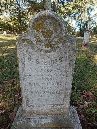 ELDER, R B - Shelby County, Tennessee | R B ELDER - Tennessee Gravestone Photos