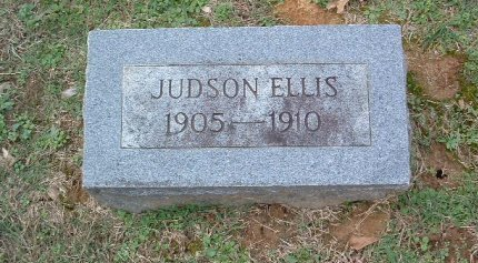 ELLIS, JUDSON - Shelby County, Tennessee | JUDSON ELLIS - Tennessee Gravestone Photos