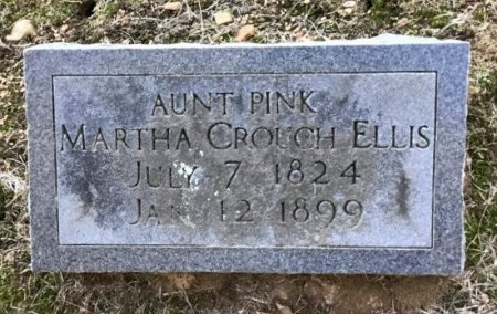 CROUCH ELLIS, MARTHA - Shelby County, Tennessee | MARTHA CROUCH ELLIS - Tennessee Gravestone Photos