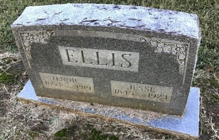 ELLIS, JESSE - Shelby County, Tennessee | JESSE ELLIS - Tennessee Gravestone Photos