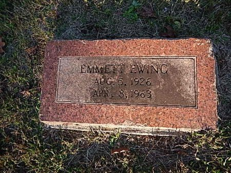 EWING, EMMETT - Shelby County, Tennessee   EMMETT EWING - Tennessee Gravestone Photos