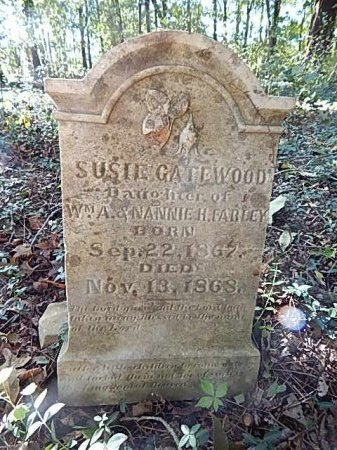 FARLEY, SUSIE GATEWOOD - Shelby County, Tennessee | SUSIE GATEWOOD FARLEY - Tennessee Gravestone Photos