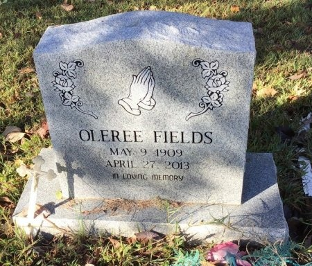 FIELDS, OLEREE - Shelby County, Tennessee   OLEREE FIELDS - Tennessee Gravestone Photos