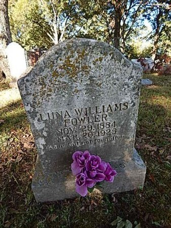 FOWLER, LUNA - Shelby County, Tennessee | LUNA FOWLER - Tennessee Gravestone Photos