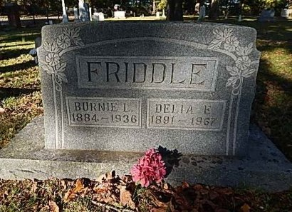FRIDDLE, DELIA E - Shelby County, Tennessee | DELIA E FRIDDLE - Tennessee Gravestone Photos