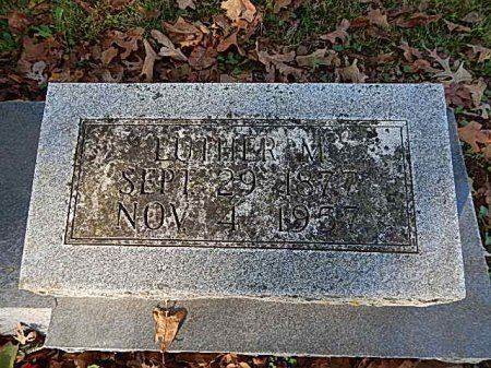FUNK, LUTHER M - Shelby County, Tennessee | LUTHER M FUNK - Tennessee Gravestone Photos