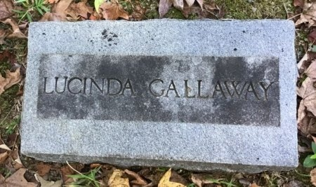 GALLAWAY, LUCINDA - Shelby County, Tennessee | LUCINDA GALLAWAY - Tennessee Gravestone Photos