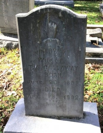GALLAWAY, MINERVA - Shelby County, Tennessee | MINERVA GALLAWAY - Tennessee Gravestone Photos
