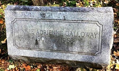 GALLOWAY, MINNIE ADRIENNE - Shelby County, Tennessee | MINNIE ADRIENNE GALLOWAY - Tennessee Gravestone Photos