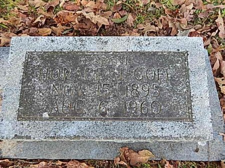 GOFF, HORACE J - Shelby County, Tennessee | HORACE J GOFF - Tennessee Gravestone Photos
