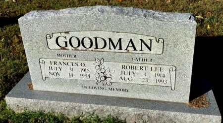 GOODMAN, ROBERT LEE - Shelby County, Tennessee | ROBERT LEE GOODMAN - Tennessee Gravestone Photos