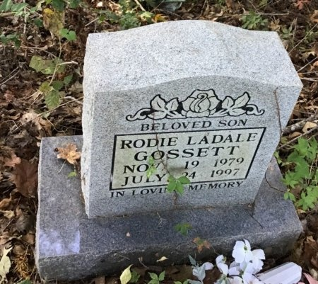 GOSSETT, RODIE LADALE - Shelby County, Tennessee | RODIE LADALE GOSSETT - Tennessee Gravestone Photos