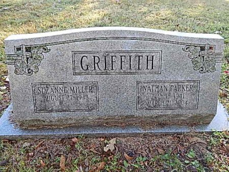 GRIFFITH, NATHAN PARKER - Shelby County, Tennessee | NATHAN PARKER GRIFFITH - Tennessee Gravestone Photos