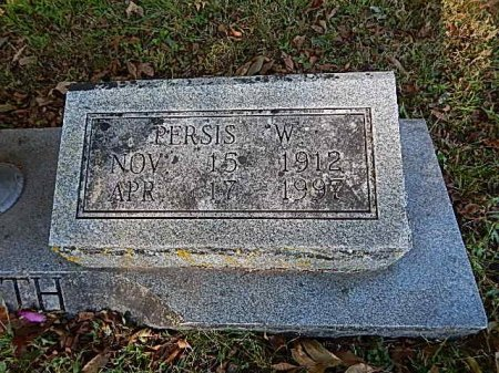 WILLIAMS GRIFFITH, PERSIS - Shelby County, Tennessee | PERSIS WILLIAMS GRIFFITH - Tennessee Gravestone Photos
