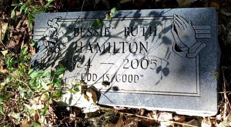 HAMILTON, BESSIE RUTH - Shelby County, Tennessee | BESSIE RUTH HAMILTON - Tennessee Gravestone Photos