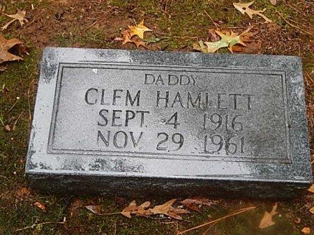 HAMLETT, CLEM - Shelby County, Tennessee | CLEM HAMLETT - Tennessee Gravestone Photos
