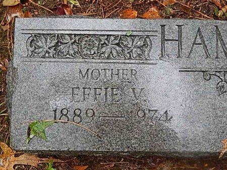 HAMLETT, EFFIE V - Shelby County, Tennessee | EFFIE V HAMLETT - Tennessee Gravestone Photos