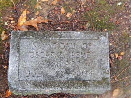 HAMLETT, INFANT DAUGHTER - Shelby County, Tennessee | INFANT DAUGHTER HAMLETT - Tennessee Gravestone Photos